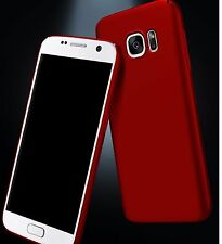 Red Ultra Thin Matte Hard Plastic Case Cover Skin For Samsung Galaxy S7 Edge