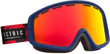 Electric EGB2 Goggles Blue Fronds/Bronze/Red Chrome Lens Mens