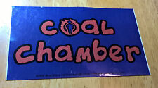"COAL CHAMBER ~ STICKER ~ DECAL ~ 5"" x 4.5"" ~ BAND ~ LOGO ~ 1999"