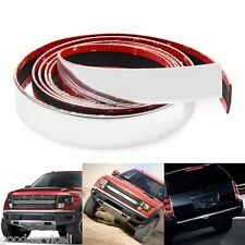 Car Bumper Door Edge Lip Guard Chrome Decoration Protector Moulding Trim Strip