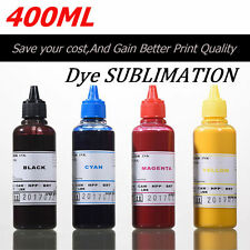 400ml dye Sublimation Ink Refill Printer Bottles kit to replace Epson Ricoh