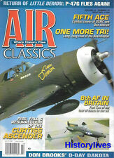 Air Classics Oct.06 P-47G 8th AF Bases Britain Curtiss XP-55 Ascender Bushmaster