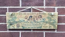 Savin des Gentils Bebes - Small Wooden Signs