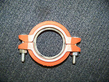 """Grinnell Fire Sprinkler Pipe Coupling Clamp 2 1/2"""" / 73.0mm New Make Offer"""