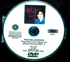 MICHAEL JACKSON They Don't Care About Us PRISON Vers Promotional Music Video DVD