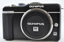 [Exc⁺⁺] OLYMPUS PEN E-PL1 12.3MP Black (Body only) Mirrorless Digital SLR Camera