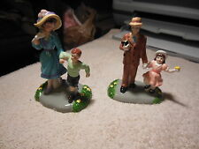 """Dept 56   Snow Village's      Easter Series"""" Dressed In Our Easter Best"""" MIB"""