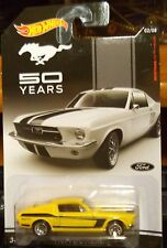 2014 Hot Wheels 50 Years Mustang 1967 Ford Mustang Yellow Combine Shipping