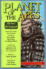 Planet of the Apes #1 1990 Charles Marshall Kent Burles Dale Keown Adventure