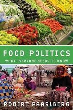 Food Politics: What Everyone Needs to Know, Paarlberg, Robert, New Book