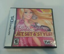 Nintendo DS, 2011 Barbie Jet, Set & Style with Manual & Case - Used