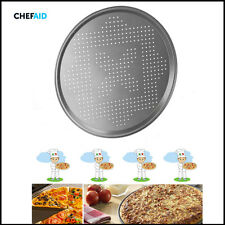 Chef-Aid Pizza Baking Tray 30CM Pan Non-Stick Coating Vent Holes Easy Cooking