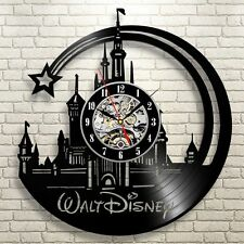Disney Movies _Exclusive wall clock made of vinyl record_Gift_Decor
