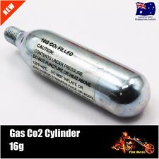 1pc CO2 C02 Threaded Cartridge Gas Tank Canister Cylinder Air 16g Pump  Bicycle