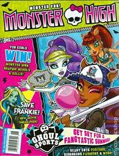 MONSTER HIGH MAGAZINE #8  SAVE FRANKIE! FREE SHIPPING!