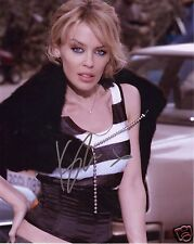 KYLIE MINOGUE AUTOGRAPH SIGNED PP PHOTO POSTER
