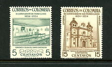 Colombia 1954  #627, C258  St. Peter Claver convent   2v.   MNH   H494