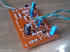 Un-Assembled Dynamic Microphone Preamplifier 2 transistor Circuit Simple kit PCB