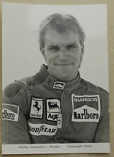 Ferrari Stefan Johansson Foto Photo Press Marlboro book buch brochure prospekt