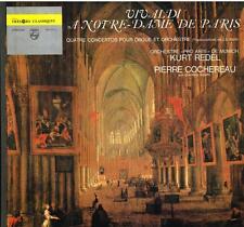 Vivaldi: 4 concerti Per Organo (4 Organ Concertos) / Pierre Cochereau, Rudel LP