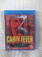 Cabin Fever 3 - Patient Zero (Blu-ray, 2014) New/Factory Sealed/dispatch in 24hr