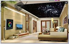RGB fiber optic light starry sky night light touchpad control ceiling lamp