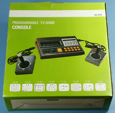 Vintage PAL Video Game Console SD-070 + Game Cassette New Old Stock
