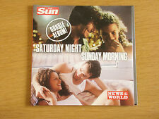 Saturday Night Sunday Morning Double Album The Sun NOTW Promo CD