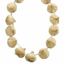 Chef / Cook Fancy Dress Prop - French Kitchen Hand Onion Garlic Garland Necklace