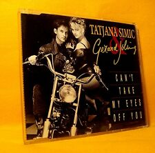 MAXI Single CD Tatjana Simic & Gerard Joling Can't Take My Eyes Off You 3TR 1992