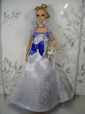 BARBIE DOLL ROBE DE MARIÉE WEDDING GOWN #01915