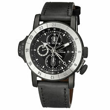 Glycine Men's 3921.991-LB9B Airman Airfighter Automatic Chronograph Black Watch
