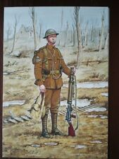 POSTCARD THE WELSH GUARDS - LANCE CORPORAL FRANCE 1917