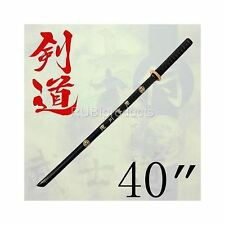 "40"" Samurai Katana Wooden Practice Sword Bokken Kendo for Students Wood Made"
