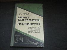 les formats 16 et 8 mm: premier film d'amateur, premier succès