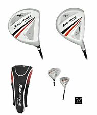 TALL ORLIMAR SENIOR 460cc ANTI-SLICE DRIVER & 3 WOOD wGRAPHITE SHAFT+HEAD COV