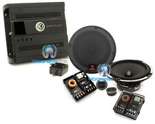 "pkg FOCAL EXPERT PS 165X2 6.5"" COMPONENT SPEAKERS + MEMPHIS PR2X50 2-CHANNEL AMP"