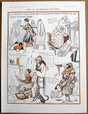 Pavis 1918 Vintage Vie Parisienne impresión frío PARIS Chica WW1 Pipa de Fumar soldado