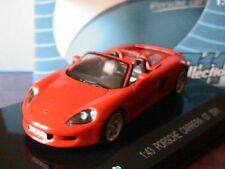 PORSCHE CARRERA GT 2001 RED CABRIOLET KDW 701 COLLECTIONS 1/43 ROSSO ROT ROUGE