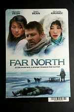 FAR NORTH SEAN BEAN YEOH KRUSIEC MINI POSTER BACKER CARD (NOT A movie )