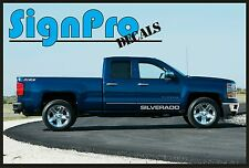 Chevy Silverado Track Vinyl Graphics Stripes Decals Sierra 1500 2500 Z71 Text