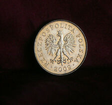Poland 2 Grosze 2009 Brass World Coin Y277 Polska Eagle with Wings Polish Europe