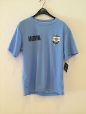 NWT Authentic Striker Argentina Light Blue Soccer T-Shirt  Size Large
