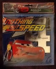 1 Birthday Card - Raceorama Nothing But Speed 4 Year old BNIP sealed