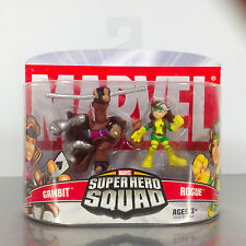 Marvel Super Hero Squad GAMBIT & ROGUE 2-Pack NIB X-Men