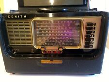 Vintage Zenith Trans Oceanic Wave Magnet Shortwave Radio Model T600
