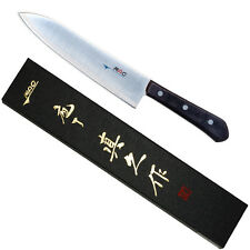 "Japanese MAC BK-80 Chef Series 8"" Blade French Chef's Knife, Made in Japan NIB"