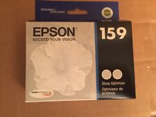 Genuine EPSON 159 Ink Cartridge Gloss Optimizer T159020 Stylus Photo R2000 T159