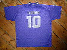 "large ""Laudrup 10"" REAL MADRID SHIRT JERSEY CAMISETA MAILLOT MAGLIA 1992"