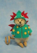 """DEB CANHAM  """"DEXTER"""" MINI MOUSE WEARING A DRAGON COAT-LIM ED OF 75 -SPRING 2013"""